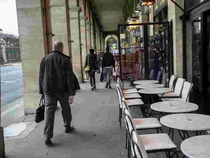 Restaurants, commerces, discothèques... Edouard Philippe annonce la fermeture des lieux publics 'non indispensables'