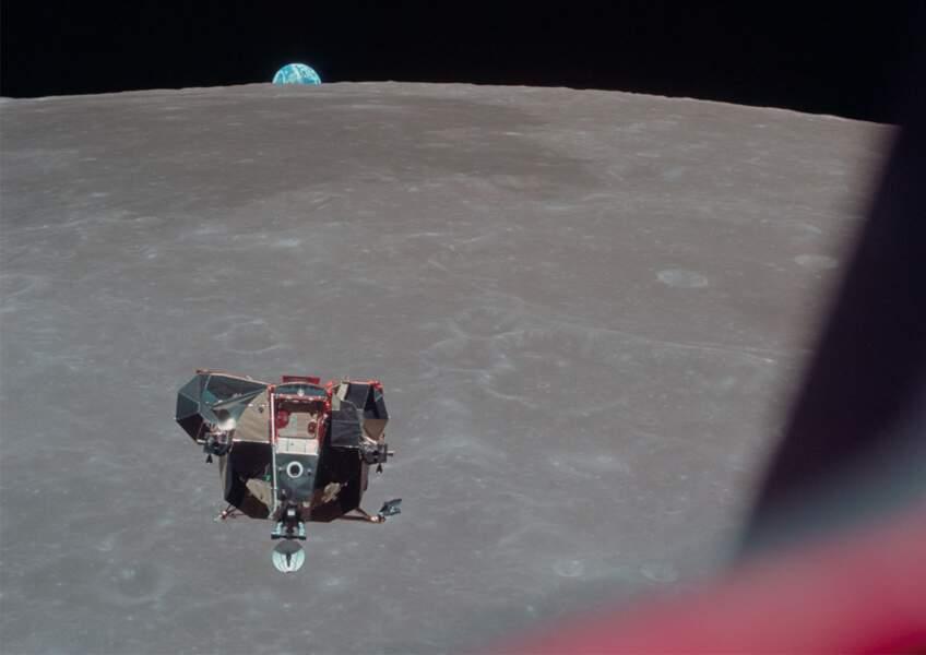 11. La vue d'Apollo 11