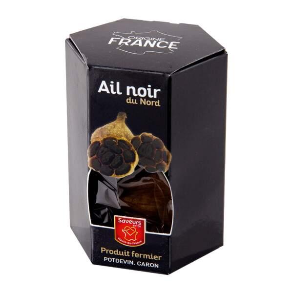 1. L'ail noir, concentré d'antioxydants