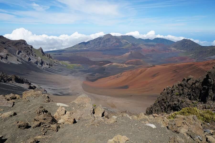 Le parc national de Haleakalā à Hawaï