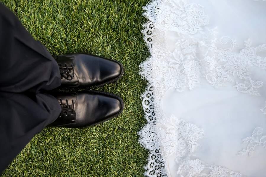 Les mariés du jour J