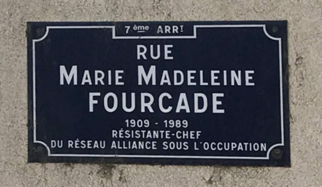Marie-Madeleine Fourcade dirige 1 500 résistants