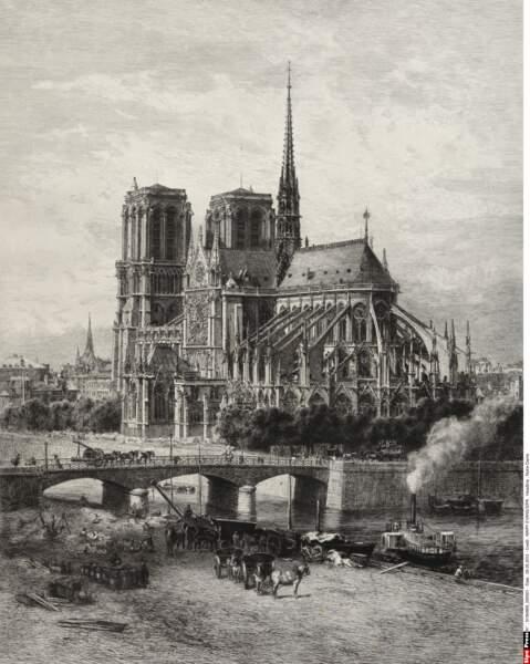 Notre-Dame entre 1867 et 1890