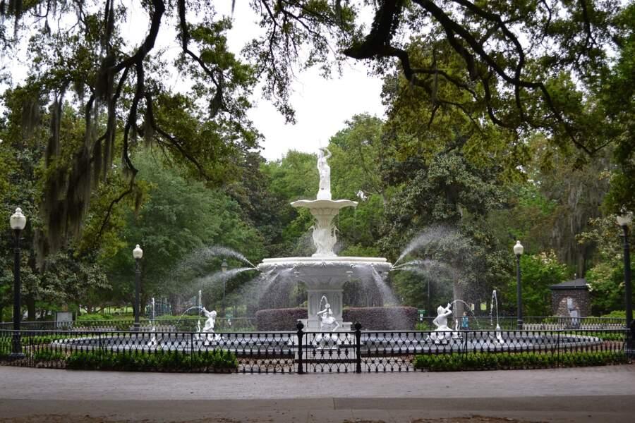 Forsyth Park de la ville de Savannah
