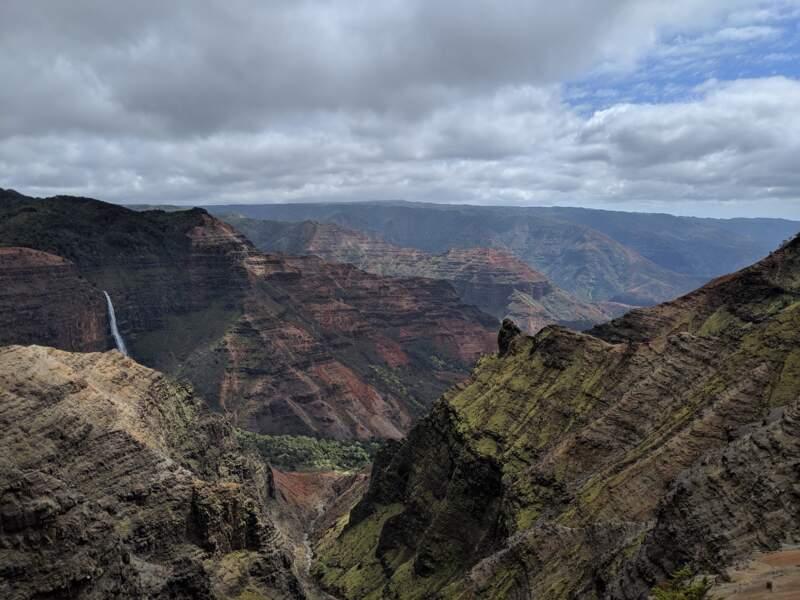 Le canyon Waimea : Une lutte féroce entre la lave et la pluie