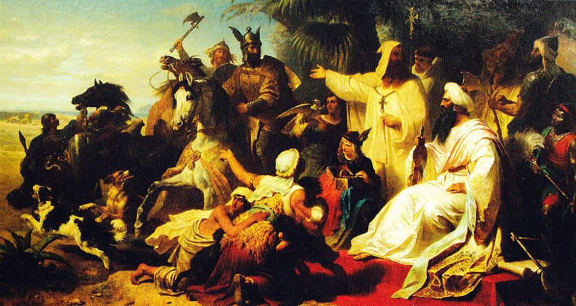 Le calife Harun al-Rachid et son vizir Jafar ont vraiment existé