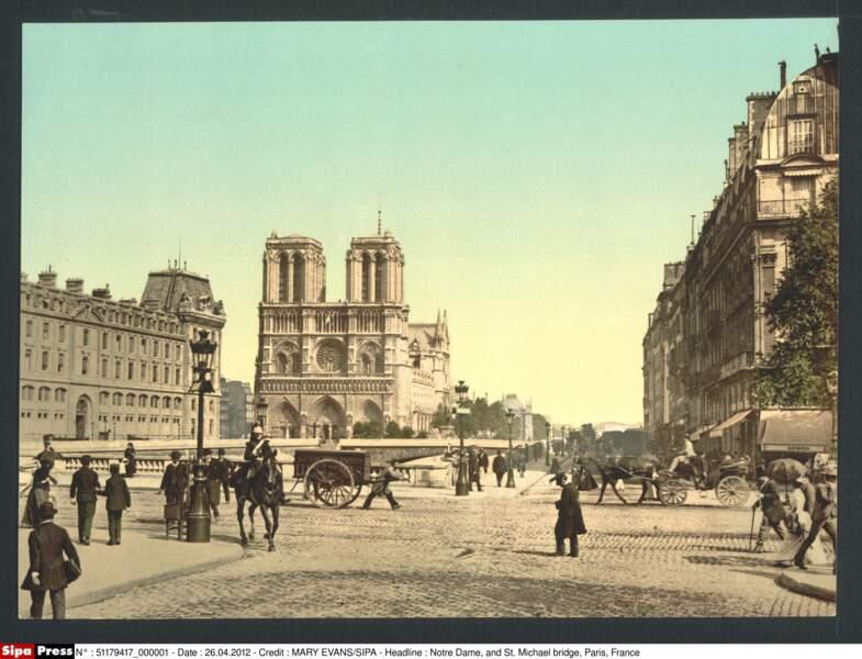 Notre-Dame entre 1890 et 1900