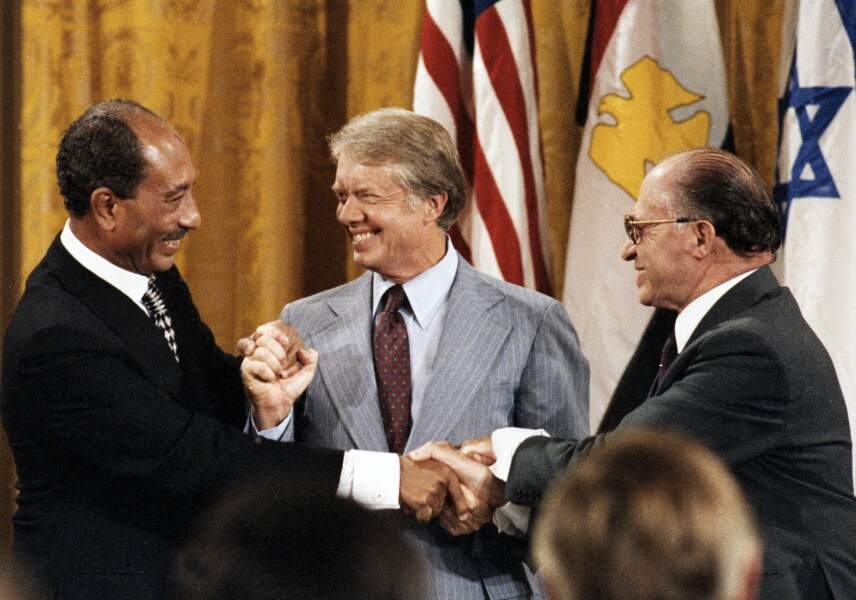 4. Sadate et Begin: L'Egypte et Israël font la paix