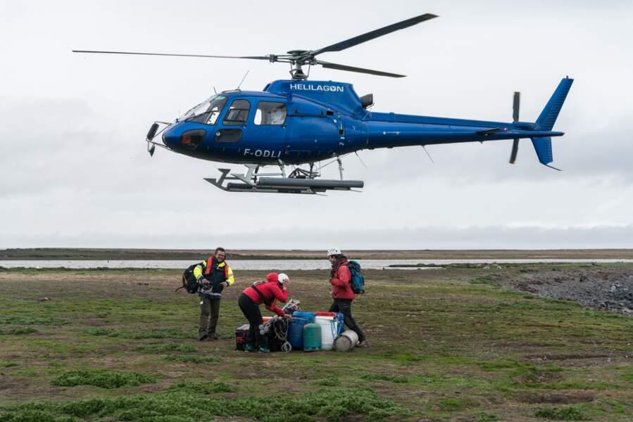 Ravitaillement aux Îles Kerguelen