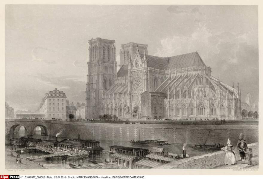 Notre-Dame en 1835