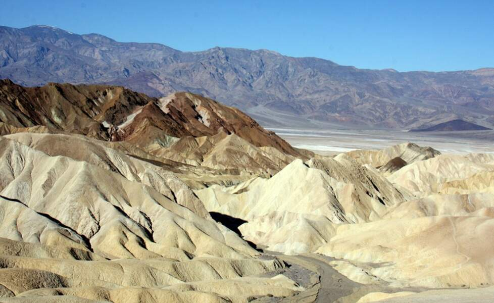 Le parc national de la vallée de la Mort en Californie