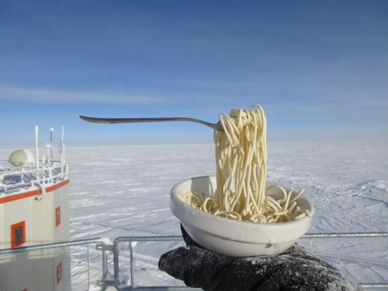 Une aventure culinaire à -70° !