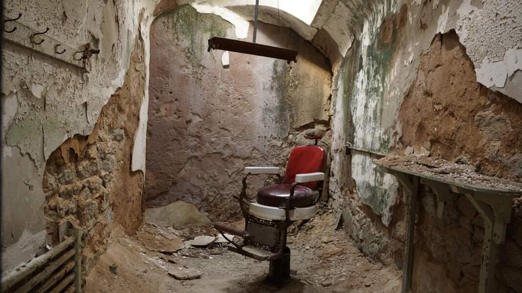 Chaise électrique de l'Eastern State Penitentiary