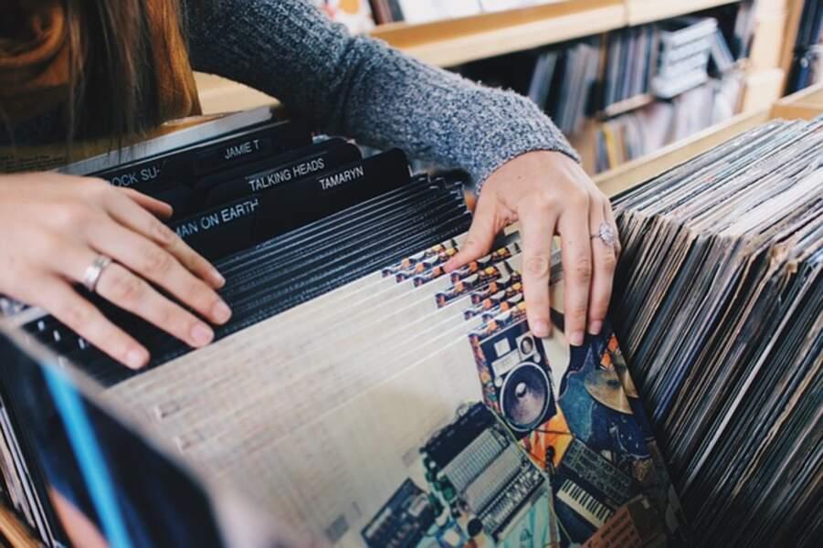 Un magasin de musique sauvé par ses clients