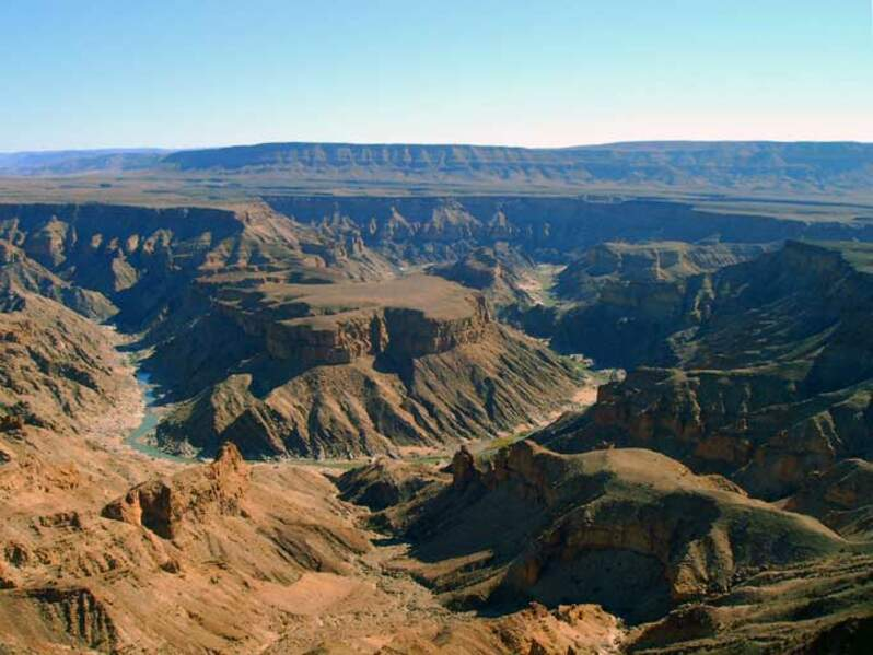 Le canyon de la Fish River en Namibie