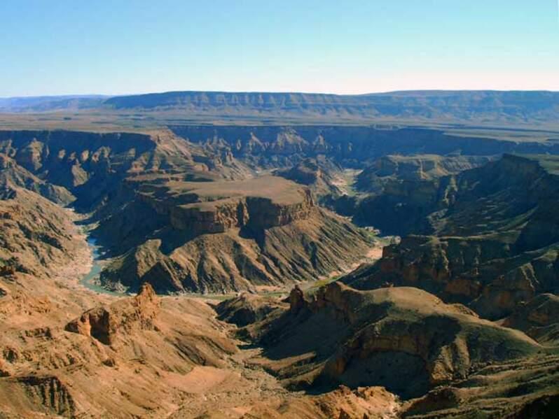 Le canyon de la Fish River en Namibie