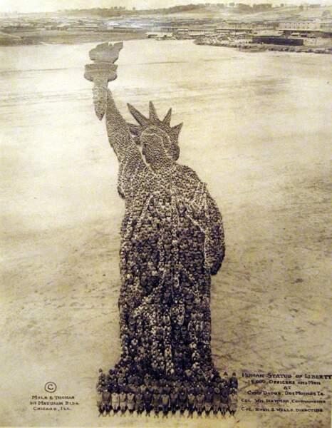 Une statue de la Liberté de 800 mètres