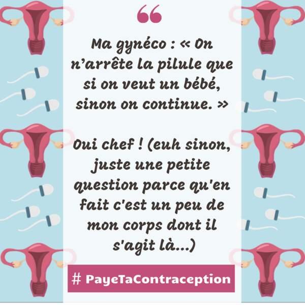 #PayeTaContraception : quelques témoignages