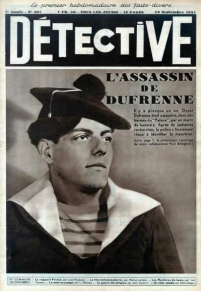 1933 : qui a tué le sulfureux Oscar Dufrenne ?