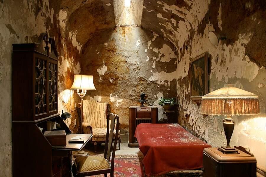 La cellule d'Al Capone de l'Eastern State Penitentiary