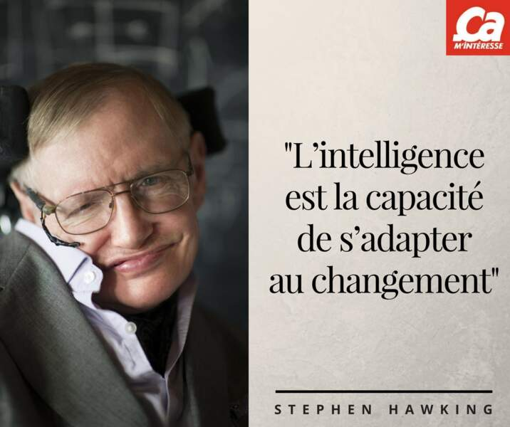 Sur l'intelligence