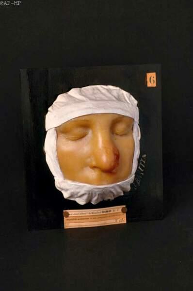XIXe siècle—Masque de cire