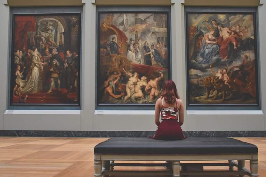 Marty, l'amateur d'art qui enrichit les visites au musée