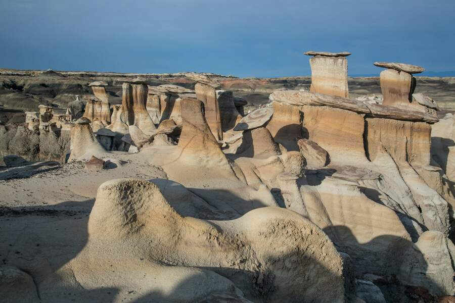 Le Bisti/De-Na-Zin Wilderness au Nouveau Mexique (USA)