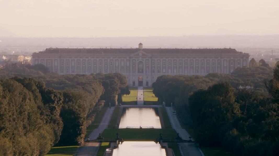 Le palais royal de Caserte (Italie)