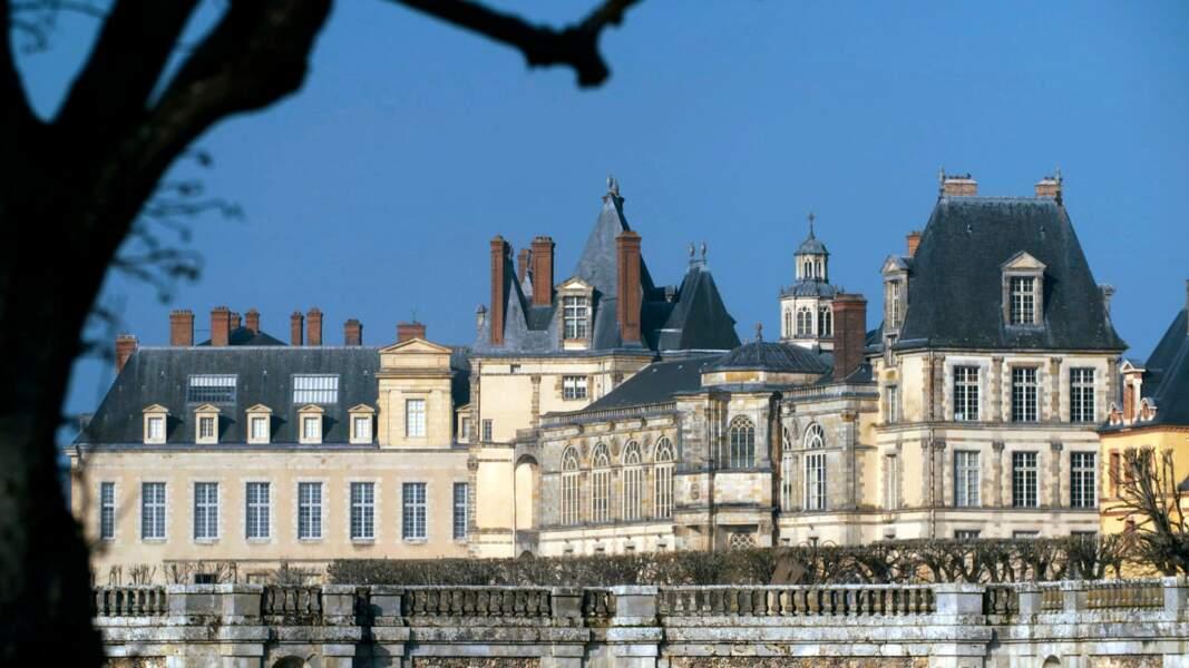 Le château de Fontainebleau (France)