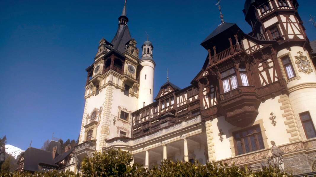 Le château de Peleș (Roumanie)