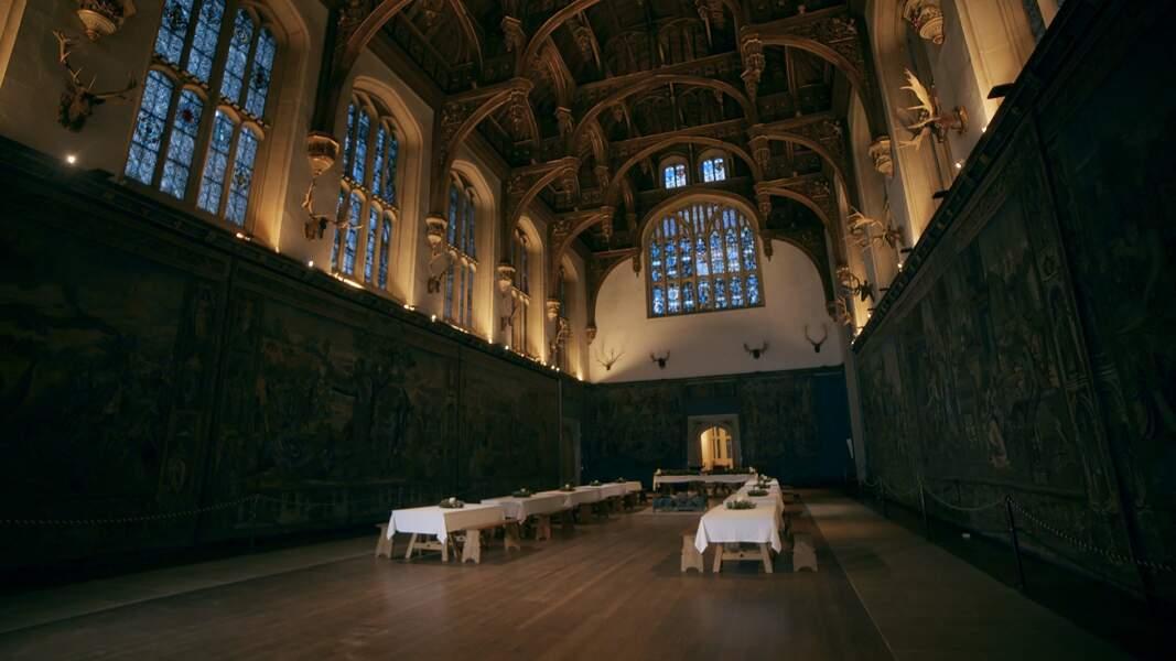 Le château de Hampton Court (Royaume-Uni)