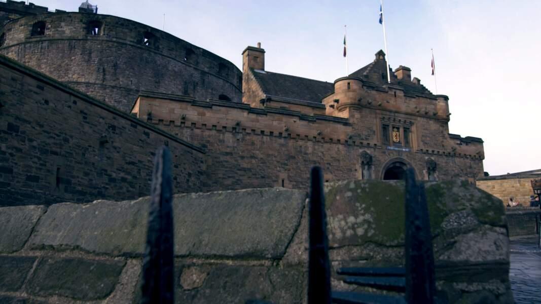 Le château d'Édimbourg (Écosse)