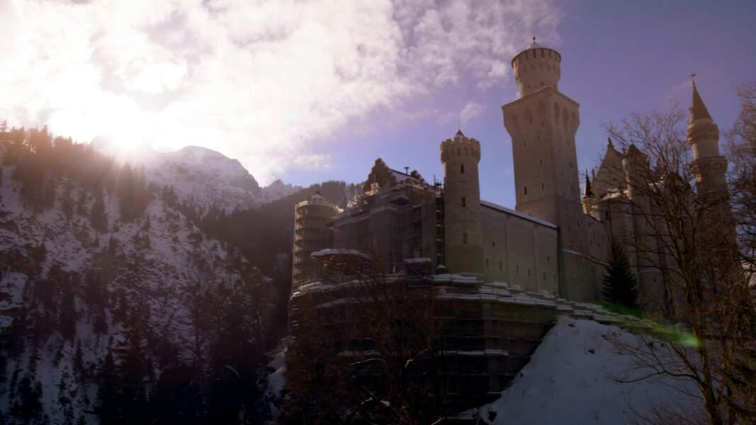 Le château de Neuschwanstein (Allemagne)