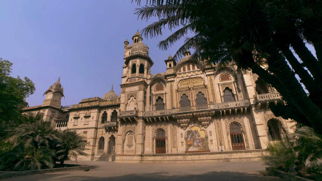 Le palais de Laxmi Vilas (Inde)