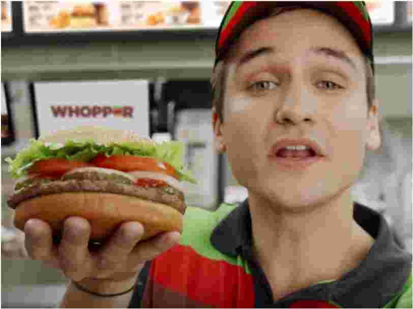 Burger King et Google se sont embarqués dans un bras-de-fer épique à cause d'une publicité