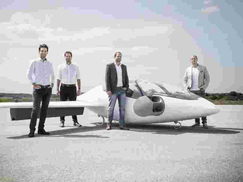 Avec 90M$, cette startup allemande veut devenir le nouveau Uber des airs grâce à ses avions de la taille d'une voiture