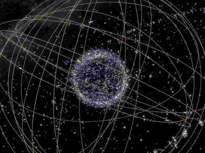 Un nouvel outil conçu par la NASA inspiré des lézards pourrait permettre d'attraper des débris spatiaux dangereux