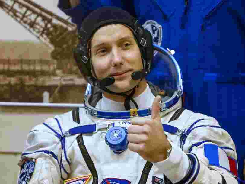 Voilà ce qu'on a appris sur la vie dans l'espace grâce à l'astronaute français Thomas Pesquet