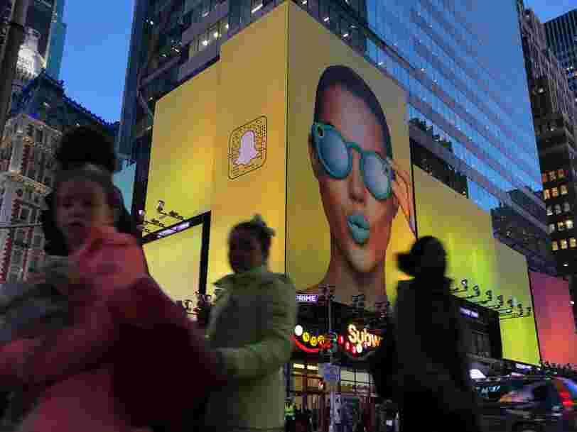 Snapchat vient de s'attaquer à une source clé des recettes publicitaires de Facebook