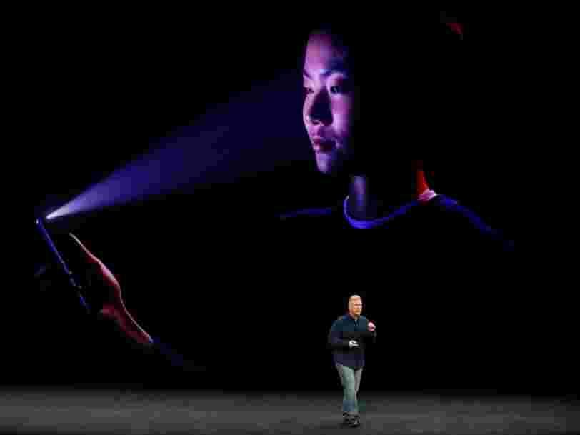 Apple a travaillé avec des créateurs de masques à Hollywood pour s'assurer que le système de déverrouillage par selfie ne pouvait pas être trompé facilement