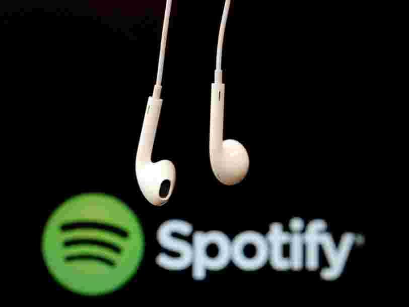 Spotify creuse ses pertes avant une éventuelle cotation en Bourse