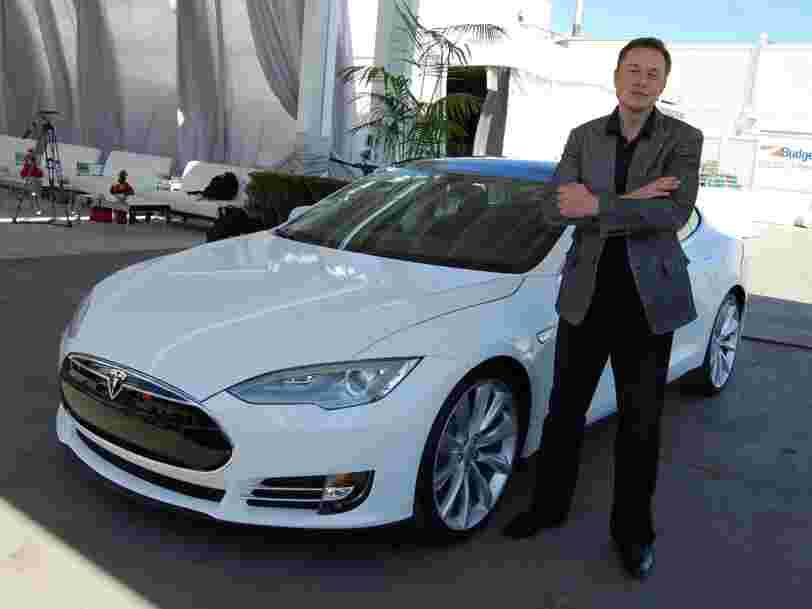Le géant chinois Tencent prend une participation de 5% dans Tesla et devient le 5e actionnaire de la firme d'Elon Musk
