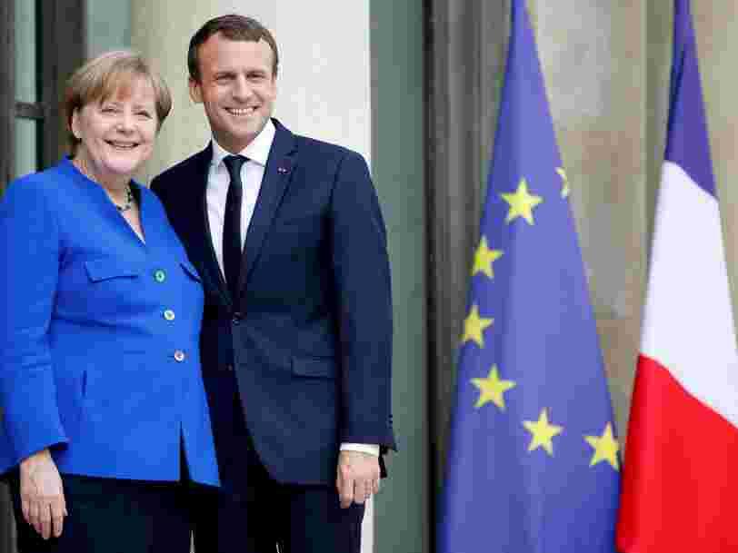 La France, l'Allemagne et l'Italie ont un plan pour freiner les rachats chinois en Europe