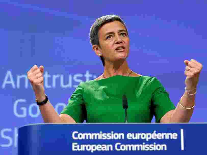 Google fait appel de l'amende record de 2,4Mds€ infligée par la Commission européenne