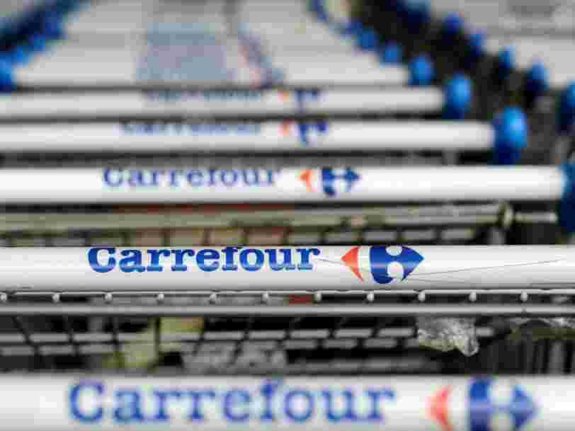 Les ventes dans les hypermarchés Carrefour en France ont chuté — sa croissance se dégrade au T3 de 2017