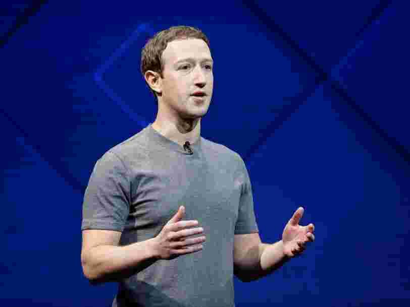 Mark Zuckerberg annonce que Facebook change son fil d'actualité pour qu'il soit 'bon pour les gens'