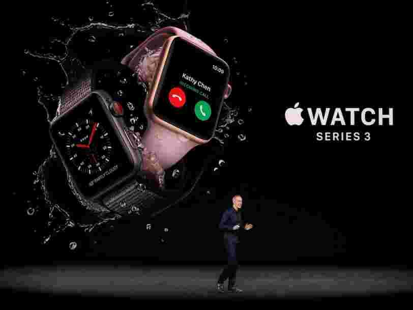 GRAPHIQUE DU JOUR: Apple a dépassé les horlogers suisses lors des fêtes de fin d'année