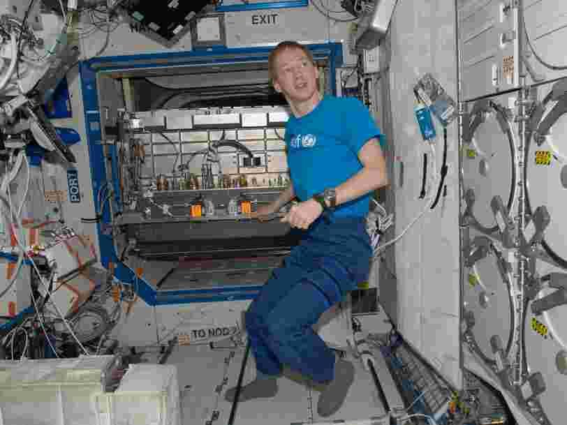 Dans 50 ans, l'ISS deviendra un vaisseau de recherche scientifique pour les entreprises privées, affirme un astronaute belge