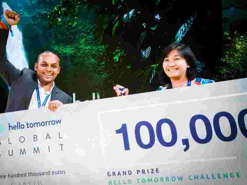 10 startups qui devraient avoir un 'impact durable' sur le monde de demain